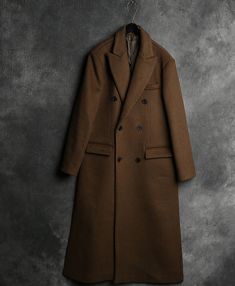 JK-7881B. INCISION LINE LONG COATB. 절개 라인 롱 코트Color : 2 colorMaterial : wool