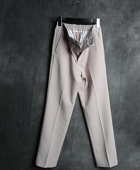 P-7520BANDING PERFECT FIT SLACKS PANTS밴딩 퍼펙트 핏 슬랙스 팬츠Color : 4 colorMaterial : poly/spandex