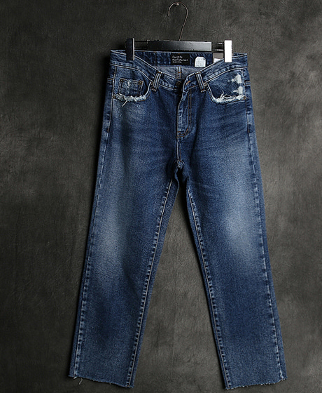 P-7866STRAIGHT PATTERN DENIM PANTS스트레이트 패턴 데님 팬츠Color : 1 colorMaterial : denim
