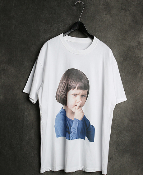 T-13127IMAGE PRINTING T-SHIRT이미지 프린팅 티셔츠Color : 1 colorMaterial : cotton