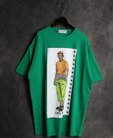 T-13072IMAGE PRINTING T-SHIRT이미지 프린팅 티셔츠Color : 1 colorMaterial : cotton