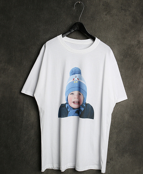 T-13125IMAGE PRINTING T-SHIRT이미지 프린팅 티셔츠Color : 2 colorMaterial : cotton