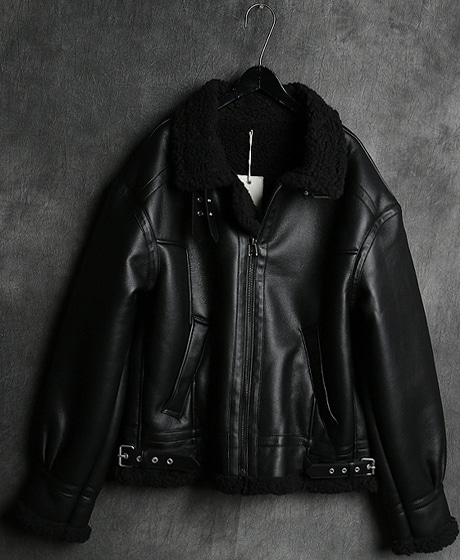 JK-9425LEATHER MUSTANG JACKET가죽 무스탕 자켓Color : 2 colorMaterial : leather