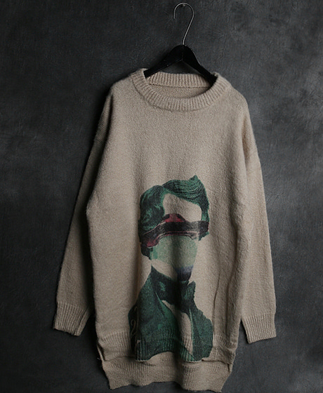 T-13936VLTN INCISION SWEATERVLTN 절개 스웨터Color : 1 colorMaterial : wool