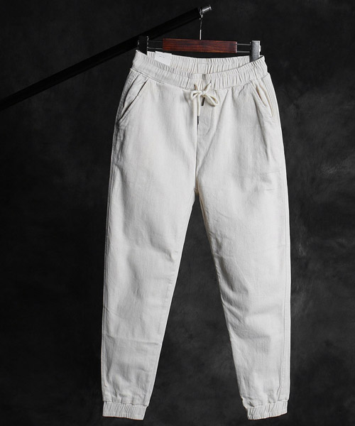 P-9845washing jogger pants